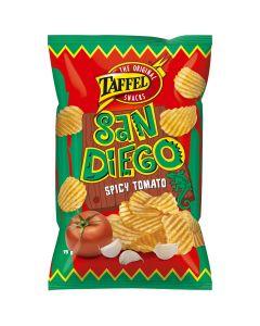 Taffel San Diego Spicy Tomato potatischips 75g