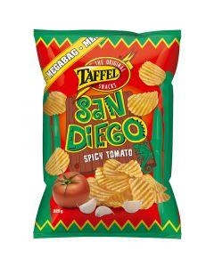 Taffel San Diego kryddig tomat kryddade potatischips 325g