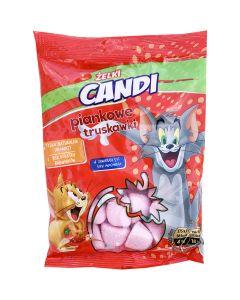 Tom & Jerry mansikkavaahtokarkit 150g