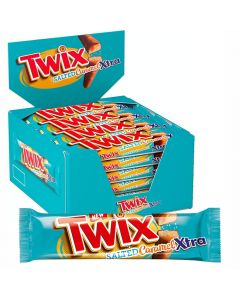 Twix Salted Caramel Xtra chokladbar 75g x 24st