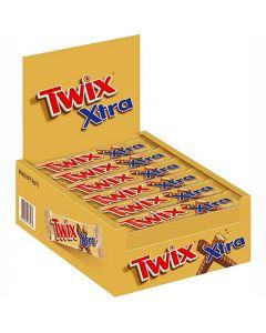 Twix Kingsize Xtra chokladbar 75g x 30st