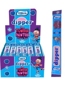 Vidal Dipper XL Tongue Painter Sour Raspberry toffeetanko n. 100kpl