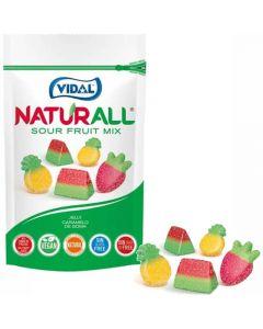 Vidal Naturall Sour Fruit Mix frukgodisar 180g