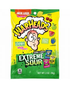 Warheads Hard Candy Extreme Sour 56g