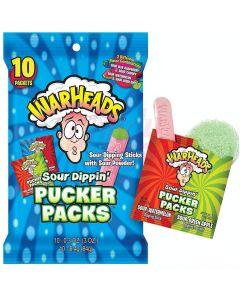 Warheads Sour Dippin Pucker Packs 10kpl (84g)