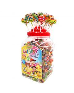 Woogie Lollipop mix 180 st