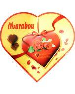 Marabou Hjärta ask 180g