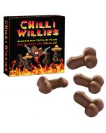 Chilli Willies 80g (Mjölkchoklad Chilipenis)