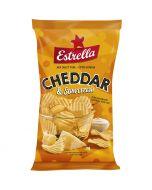 Estrella Cheddar & Sourcream Chips 175g
