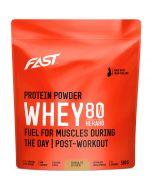 Fast Whey80 vassleproteinpulver choklad 500g