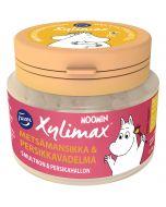 Fazer Xylimax Moomin helxylitolpastil Smultron & Persikahallon 90g