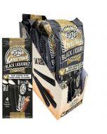 Fini Gourmet Black lakrits stång 4-pack x 12 st