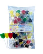Heart Lollipop Mix 700g