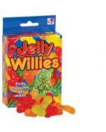 Jelly Fruit Willies 120g (Finnish model)