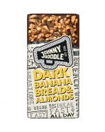 Johnny Doodle Dark Banana Bread & Almonds chokladkaka 150g