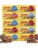 Marabou 185g-200g chokladsortiment 10-pack (1,97kg)