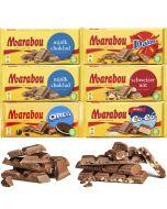 Marabou 185g-200g suklaalevylajitelma 6-pack (1,17kg)