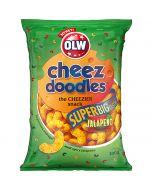 OLW Super Cheez Doodles Jalopeno ostbågar 200g