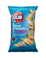 OLW Sour Cream & Onion chips 175g