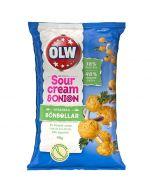 OLW Sour Cream & Onion Bönbollar 90g