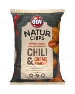 OLW Naturchips Chili & Creme Fraiche 150g