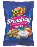Taffel Broadway Sourcream & Onion Nuts 150g