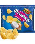 Taffel Broadway Sourcream & Onion chips 150g