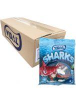 Vidal Jelly Sharks 70g x 18 st