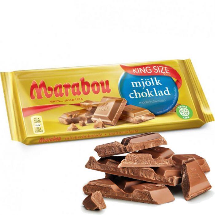 skicka marabou choklad