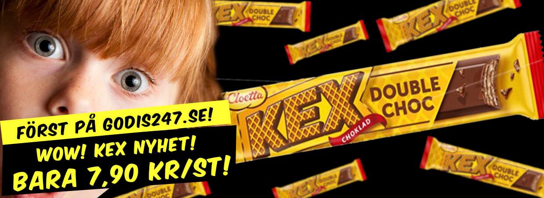 Nyhet från Cloetta - Kex Double Choc