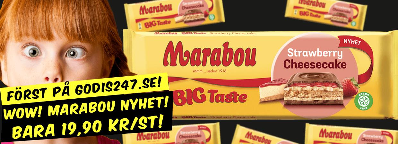 Marabou Big Taste Strawberry Cheesecake